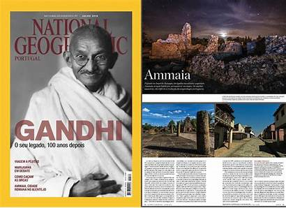 Geographic National Magazine July Portugal Edition Science