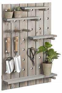 Pegboard, W, 4, Shelves, Wood, U2013, Esschert, Design, Usa