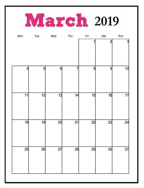 printable march vertical calendar maxcalendars