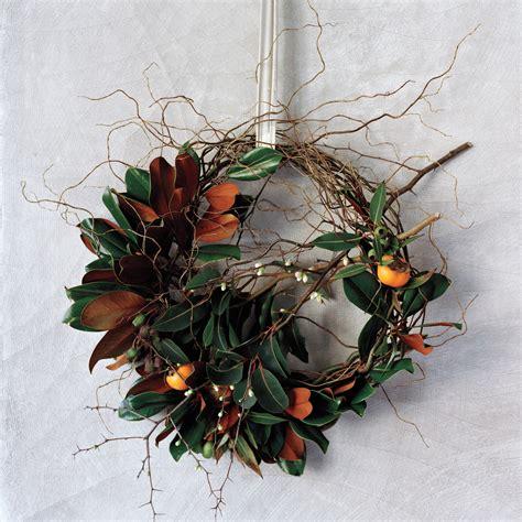 wild wreaths  martha stewart