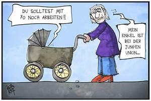 Rente Mit 55 Berechnen : rente mit 70 von kostas koufogiorgos politik cartoon ~ Themetempest.com Abrechnung