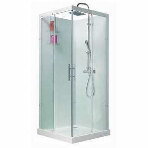 Glastisch 80 X 80 Cm : cabine de douche carr 80x80 cm thalaglass 2 thermo leroy merlin ~ Bigdaddyawards.com Haus und Dekorationen