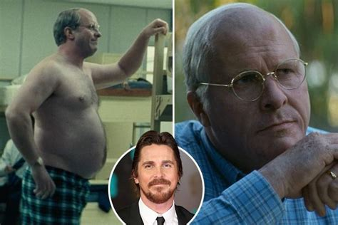 Christian Bale Looks Totally Unrecognisable After Gaining