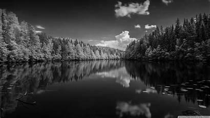 Forest Lake 4k Wallpapers Desktop Finland Uhd