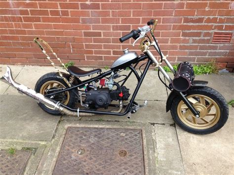 Lifan 50cc Mini Moto Chopper, Recently Auctioned On Ebay