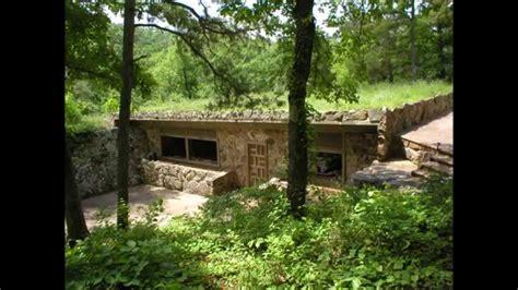 hillside cabin plans rock house