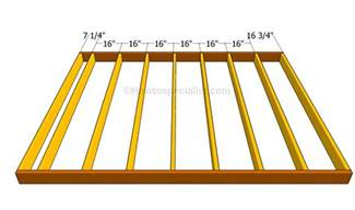 Distance Between Floor Joists Australia by Deck Joist Spacing Deck Design And Ideas