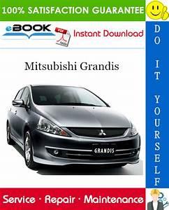 2008 Mitsubishi Grandis Service Repair Manual