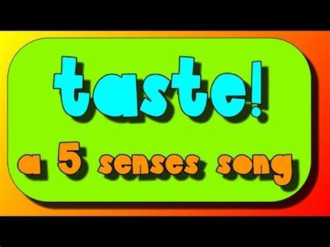5 senses song the sense of taste 5 | hqdefault