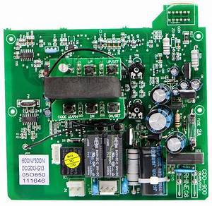 Genie 39537r S Replacement Circuit Board For 600  800 Units