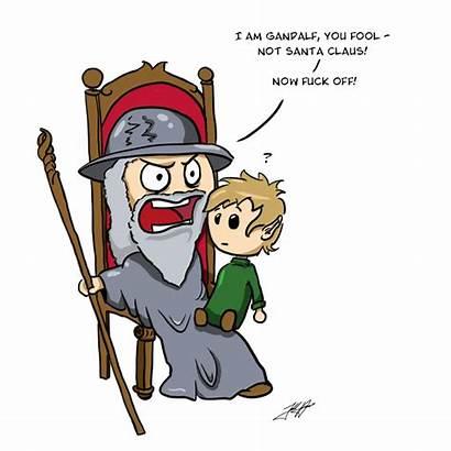 Gandalf Santa Deviantart