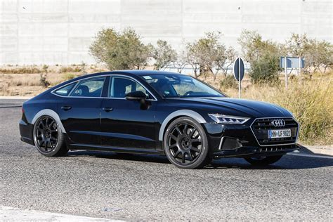 next audi rs7 spotted testing to be available in two versions evo