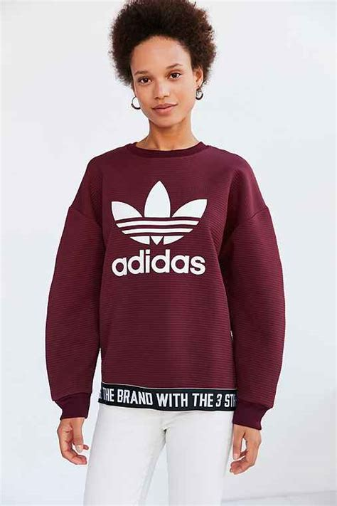 sweater by link link shop adidas originals adicolor trefoil pullover sweatshirt