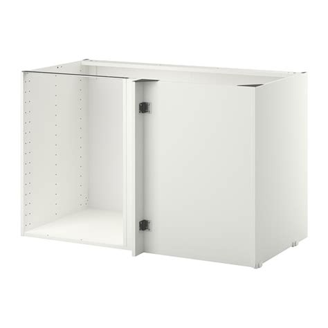 meuble d angle cuisine ikea metod structure élément bas d 39 angle blanc ikea