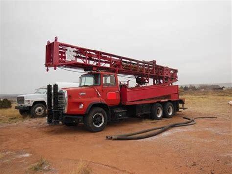 ingersoll rand drill rigs 1992 ingersoll rand th55 waterwell drill rig venture drilling supply