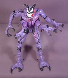 """Riot Symbiote Action Figure, 7 1/2"""" Tall, 1996 Toy Biz ..."""