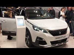 Gt Line 3008 : peugeot 3008 gt line 2016 in detail review walkaround interior exterior youtube ~ Medecine-chirurgie-esthetiques.com Avis de Voitures