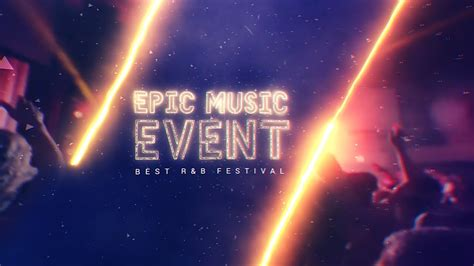 epic  event  effects template youtube