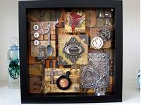 shadow box art Shadow boxes/decoupage on Pinterest | Shadow Box, Printer Tray and Graphic 45