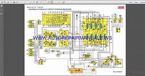 Hitachi Zaxis 850-3 Hydraulic Circuit Diagram Manual Wcla0608