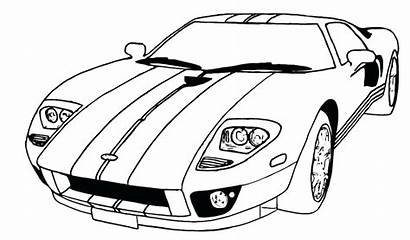 Coloring Pages Muscle Classic Cars Printable Getcolorings