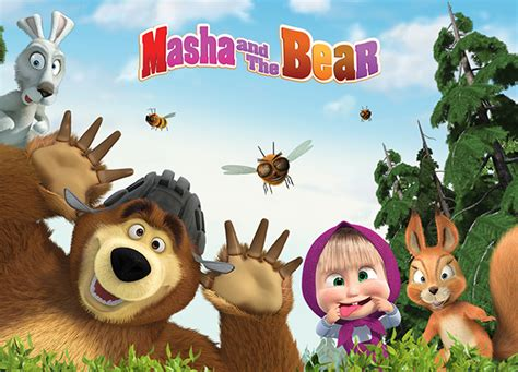 Masha And The Bear Joins Universal Kids Channel