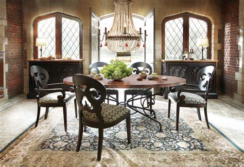 arhaus copper table craigslist copper dining table traditional dining room other