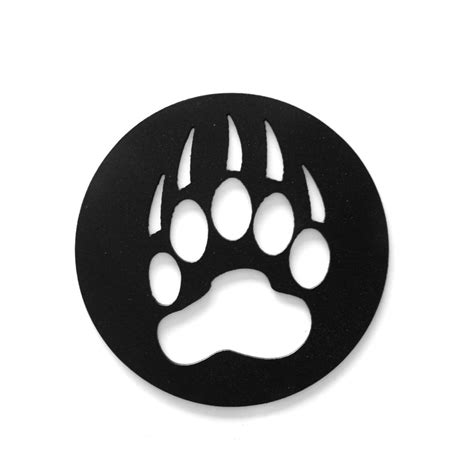 cub scout bear paw print clipart   cliparts