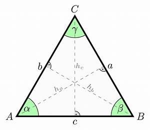 Höhe Gleichschenkliges Dreieck Berechnen : file equilateral triangle wikimedia commons ~ Themetempest.com Abrechnung