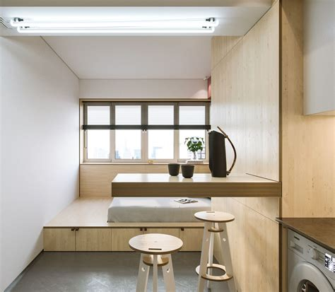 Ideas For Small One Bedroom Apartments by Compact Spaces A Minimalist Studio Apartment