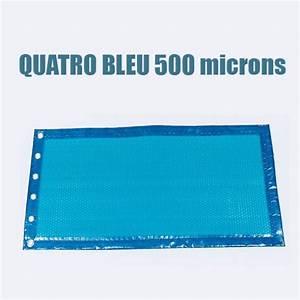 Bache A Bulle Sur Mesure 500 Microns : b che bulles piscine bleu 500 microns bord e 4 cot s piscine shop ~ Melissatoandfro.com Idées de Décoration