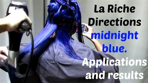 apply la riche directions midnight blue