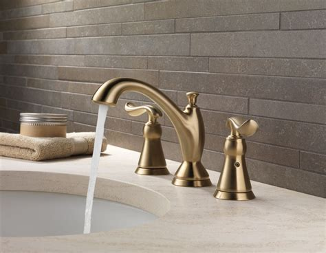 delta linden widespread bathroom faucet delta linden bath collection