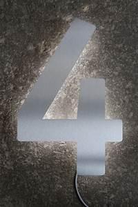 Hausnummer Led Hinterleuchtet : led hausnummer 4 hinterleuchtet ~ Sanjose-hotels-ca.com Haus und Dekorationen