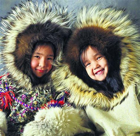 eskimo kostüm kinder arktis durch das packeis der nordwestpassage welt