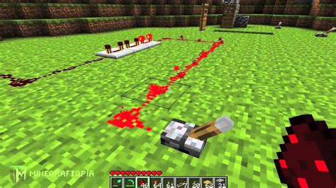 Minecraft Tutorial Basic Redstone Circuits Minecraftopia