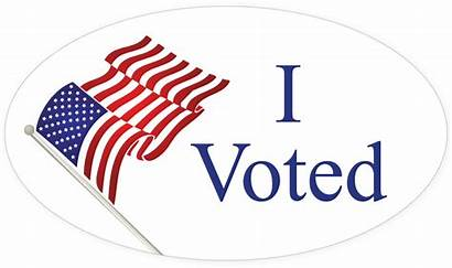 Voted Sticker Transparent Clipart Election Ivoted Voting