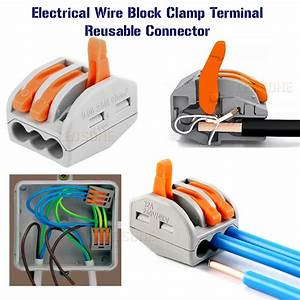 Electrical Connectors Wire Block Clamp Terminal Cable 12v