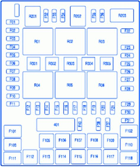 2001 Ford F150 Fuse Block Diagram by Ford F150 Crew Cab 2009 Fuse Box Block Circuit