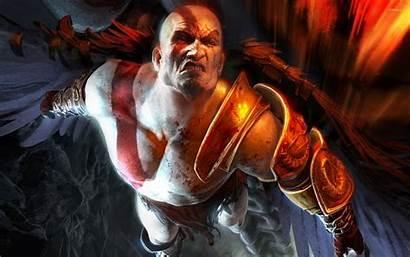 God Kratos War 4k Flying Wallpapers Hack