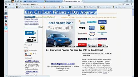 No Credit Check Car Dealers Uk-guaranteed Car Loan