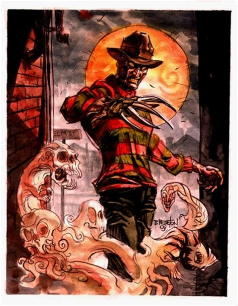 superman  freddy krueger  supermans dream battles