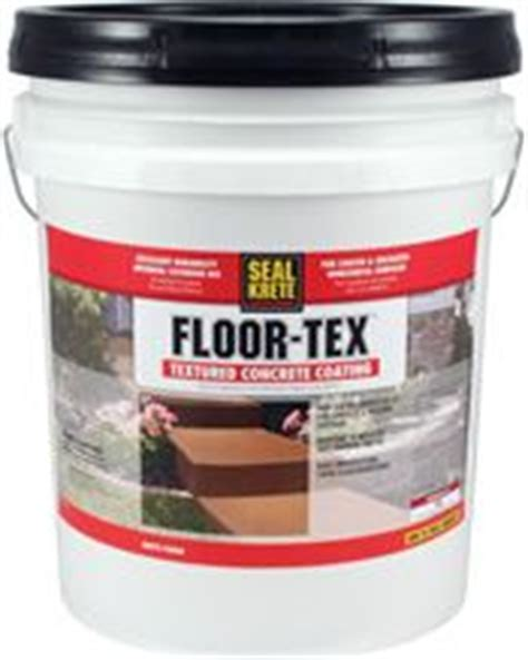 Seal Krete Floor Tex 40 by Seal Krete Floor Tex 40 40lb Pail Carpets Acrylics