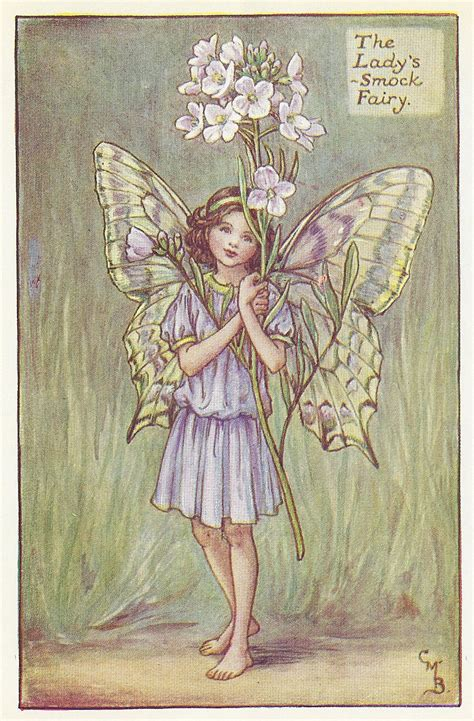 spring fairies lady s smock fairy print for sale