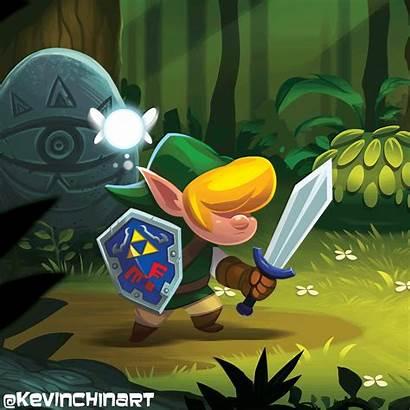 Zelda Legend Concept Kevin Illustration Link Fan