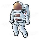 Abeka | Clip Art | Astronaut 1