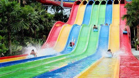 wisata waterpark  hits  jogja