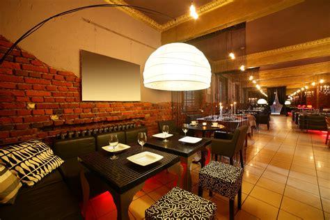 restaurante de estilo eclectico  ladrillo visto fotos