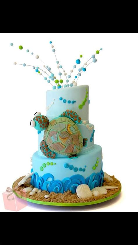 Turtle Decorations For Cakes by Turtle Cake Decor Ideas Turtle Cakes