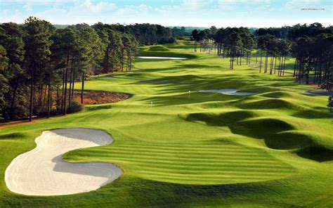 Green Golf Course Wallpaper #1348  Fore The Love Of The